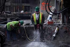 martello demolitore ad aria compressa